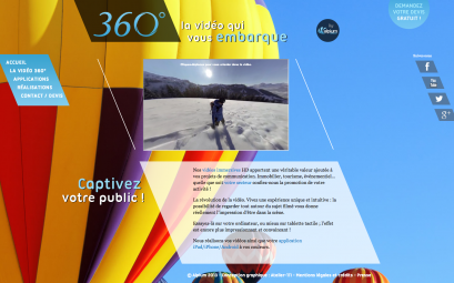 Site vidéos 360