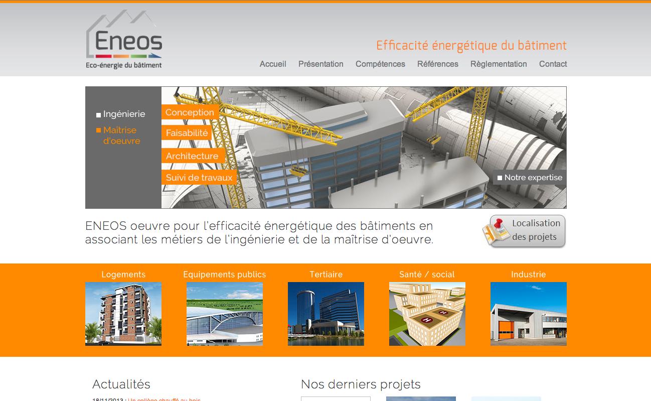 Site web Eneos