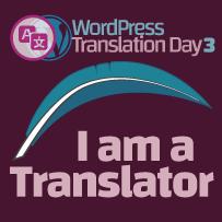 WPtranslation day 3 - translator