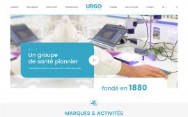 page d'accueil Urgo