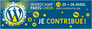 wordcamp paris 2019, je contribue